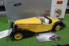 AUDI FRONT 225 ROADSTER 1935 cabriolet jaune 1/18 d CMC M-075A voiture miniature