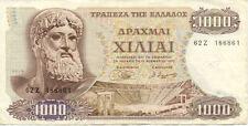 GRECE GREECE 1000 drachmes 1970 état voir scan 861