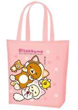 San-X Rilakkuma Cat Lawson Shopping Reusable Eco Thin Tote Bag Japan US Seller