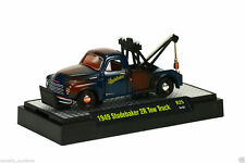 M2 AUTO-TRUCKS REL 25 1949 STUDEBAKER 2R TOW TRUCK 1:64 CLAM-SHELL