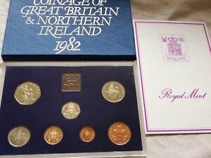 1982 UK coin set