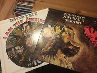 David Frye (Comedy) LP Lot: Richard Nixon Superstar/ I Am The President BOTH VG+