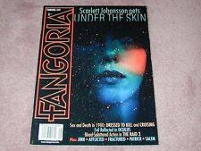 FANGORIA # 332, Scarlett Johansson Under the Skin, Oculus, FREE SHIPPING USA