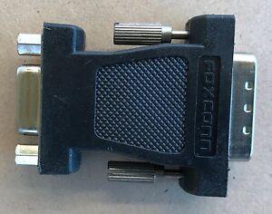 DVI Male To VGA Female Socket Adapter Converter