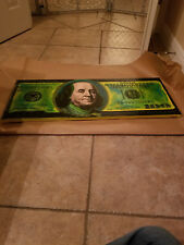 "Steve Kaufman   "" 100$  Bill  ""   Warhol  MAKE OFFER  #SK150CDSS"
