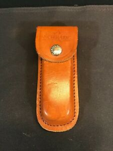 Vintage Schrade Leather Belt Sheath