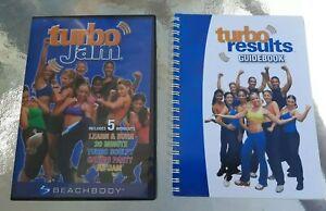 Turbo Jam DVD  2 - disc Workout Video  Learn  , Turbo  ,  Ab Jam  Plus Cookbook