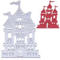 Castle Metal Cutting Dies Stencil Fr DIY Scrapbooking Embossing Paper Card Decor