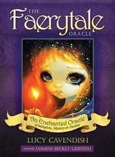Faerytale Oracle Book & Cards by Lucy Cavendish, NEW Book, (Paperback) FREE & Fa