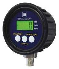 Ssi Mg1 5000 A 9v R Digital Pressure Gauge 0 To 5000 Psi 14 In Mnpt