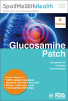 Glucosamine Patches. Muscle & Joint Pain Relief