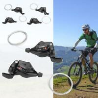 Mountain Bike Bicycle MTB Gear Shifters 3X7/8/9 Speed Shift Left/Right Shifter