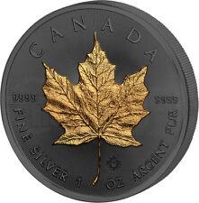 MAPLE LEAF 30th Anniversary Golden Enigma 1 Oz Silver Coin 5$ Canada 2018