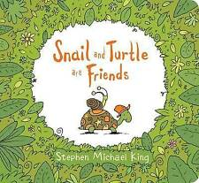 Snail and Turtle are Friends Board Book by Stephen Michael King (Hardback, 2017)