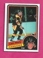 1984-85 OPC # 327 CANUCKS CAM NEELY ROOKIE NRMT CARD (INV# C1971)
