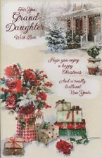 For You, Grand-Daughter With Love - Christmas Card