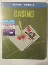 Casino BLURAY Limited Edition Steelbook Digital HD May Be Expired -