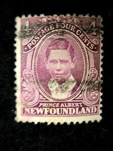 CANADA/NEWFOUNLAND - SCOTT# 107 - USED - CAT VAL $13.50