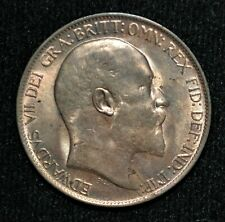 1910 Great Britain Half Penny Red