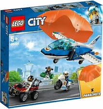LEGO 60208 City Police Sky Police Parachute Arrest with 3 Vehicles, brand new.