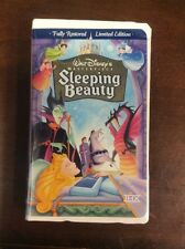 Sleeping Beauty (VHS, 1997 Limited Edition) VHSshop.com Disney Animation Cartoon
