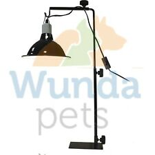 KOMODO LIGHT STAND REPTILE VIVARIUM ADJUSTABLE TORTOISE TABLE HEAT LAMP FIXTURE