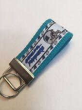 Key Fob Hand Made, Carolina Panthers Football