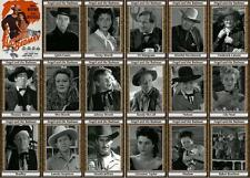 Angel and the Badman John Wayne movie trading cards