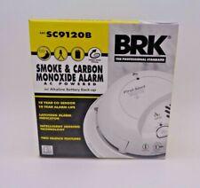 First Alert SC9120B Combination Carbon Monoxide & Smoke Alarm AC Power & Battery