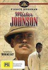 MISTER JOHNSON - BRAND NEW & SEALED DVD (PIERCE BROSNAN, EDWARD WOODWARD) 1977