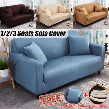 Cubierta del sofá Protector cubre sofá de elástico tramo 1 2 3 4 asientos para la sala de estar