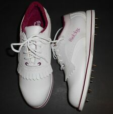 Foot-Joy GreenJoys White Golf Shoes New Women's Size 6.5