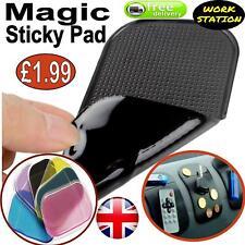 ANTI SLIP STICKY MAT CAR DASHBOARD NON SLIP MOBILE PHONE KEYS GADGET HOLDER UK