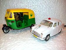 TOY & MODEL OF CNG AUTORICKSHAW & AMBASSADOR CAR(white) -CENTY TOYS,KIDSTOYSHUB