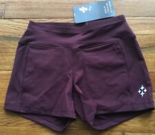 JOFIT 4 All Athletic Apparel Fit For Women Knit Tennis Short XS Raisin