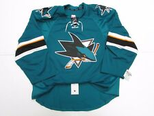 SAN JOSE SHARKS AUTHENTIC HOME TEAM ISSUED REEBOK EDGE 2.0 7287 JERSEY SIZE 56