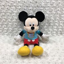 """New listing Disney Mickey Mouse Club House Plush Stuffed Toy Animal Doll 14"""" Tall Blue Red"""