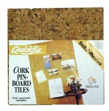 Nicoline Quickfix 30x30cm Cork Pin-board Tiles - 4 Pieces