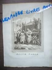 GRAVURE 1752 BEGUM SAHEB PRINCESSE JAHANARA INDE INDIA
