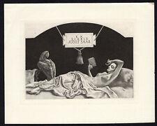27)Nr.122- EXLIBRIS- Leo Frank  -  Erotik / erotic