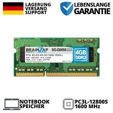 4GB DDR3 RAM SO-DIMM PC3L-12800S 1Rx8 1600 MHz 1.35V Notebook Laptop Speicher