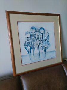 Tour De France by G Rodo Boulanger print framed