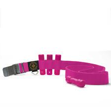 Scuba Diving Pink Weight Belt w/4Pcs Pink Slug Weights Set