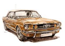 1965 Ford Mustang Shelby GT350SR 2/'X4/' Vinilo Banner.