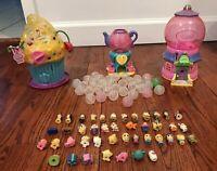 Squinkies Playset Disney 12pc Princess Snow White Figures Big Lot Cupcake Castle
