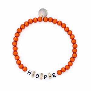 """Armband - """"Hope""""  / orange"""