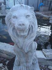 Fancy Roaring Lion CEMENT STATUE CONCRETE Lawn Garden Decoration Ornament L@@K!