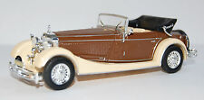 Modellauto Mercedes SS, beige/braun, Bj. 1933, Maßstab 1:43 Whitebox