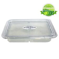 2 Lb Tray Clear Glycerin Melt & Pour Soap Base Organic by Dr.Adorable
