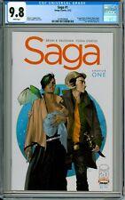 Saga #1 CGC 9.8 1st print